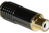 SonicWave™ RCA Female Connectors (8.5mm OD)